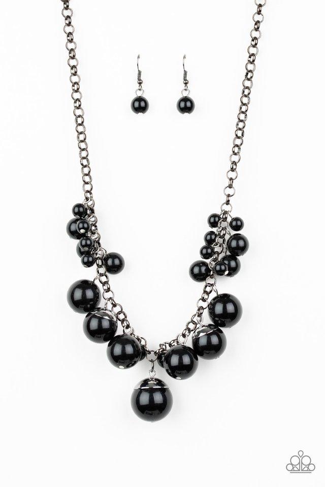 Broadway Belle - Black - Paparazzi Necklace Image