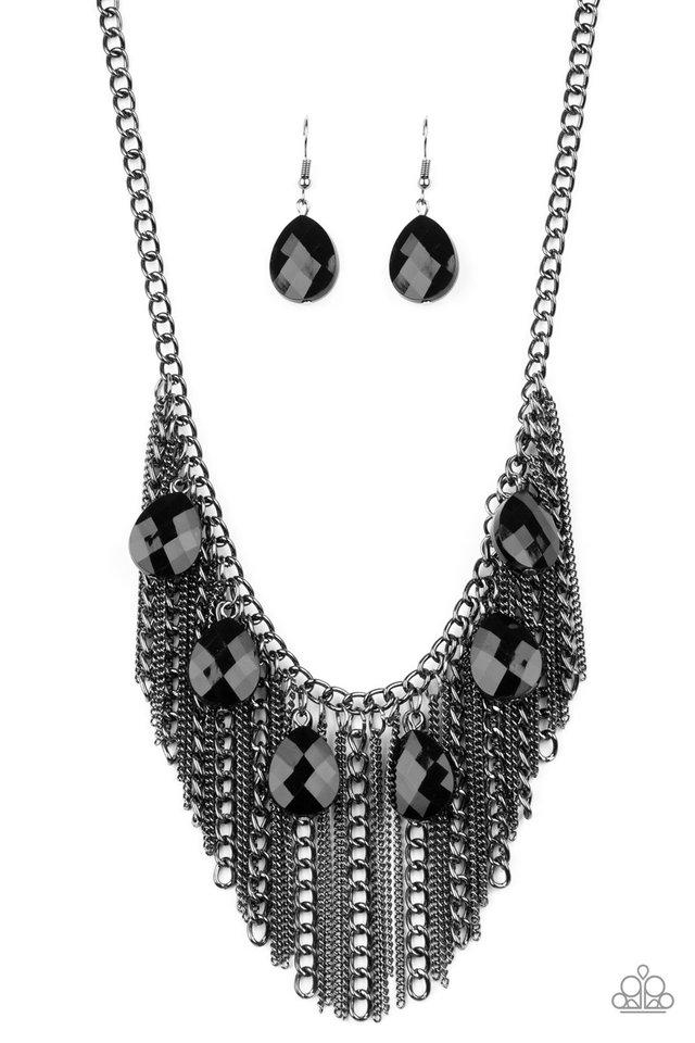 Vixen Conviction - Black - Paparazzi Necklace Image