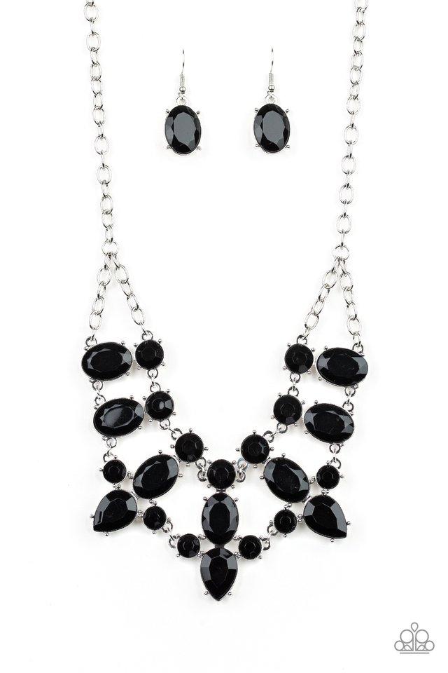 Goddess Glow - Black - Paparazzi Necklace Image