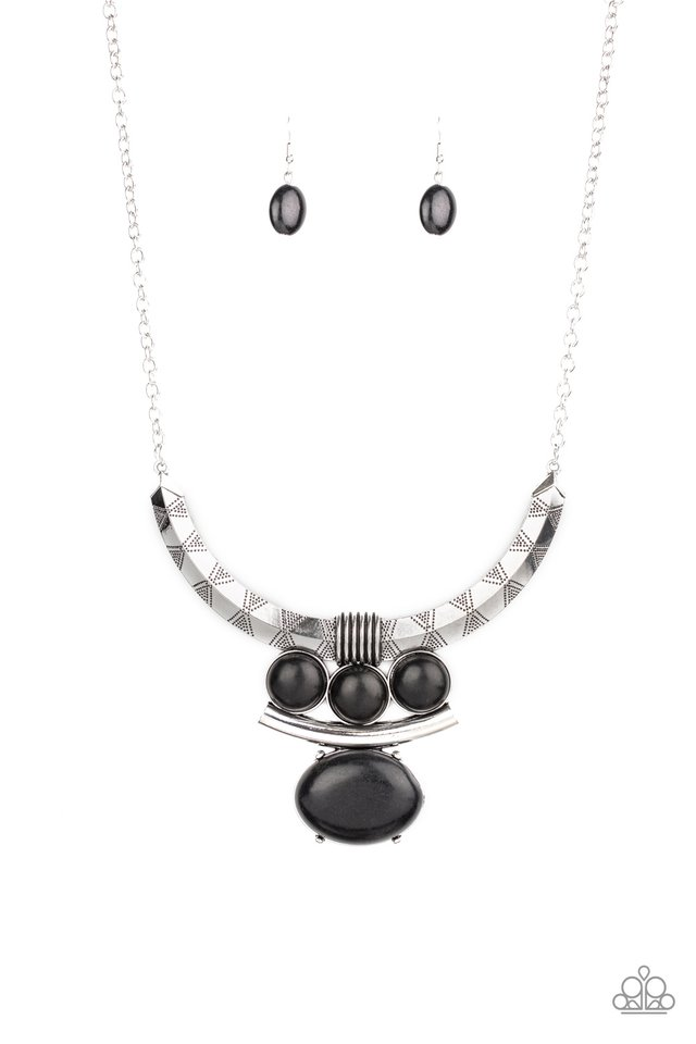Commander In CHIEFETTE - Black - Paparazzi Necklace Image