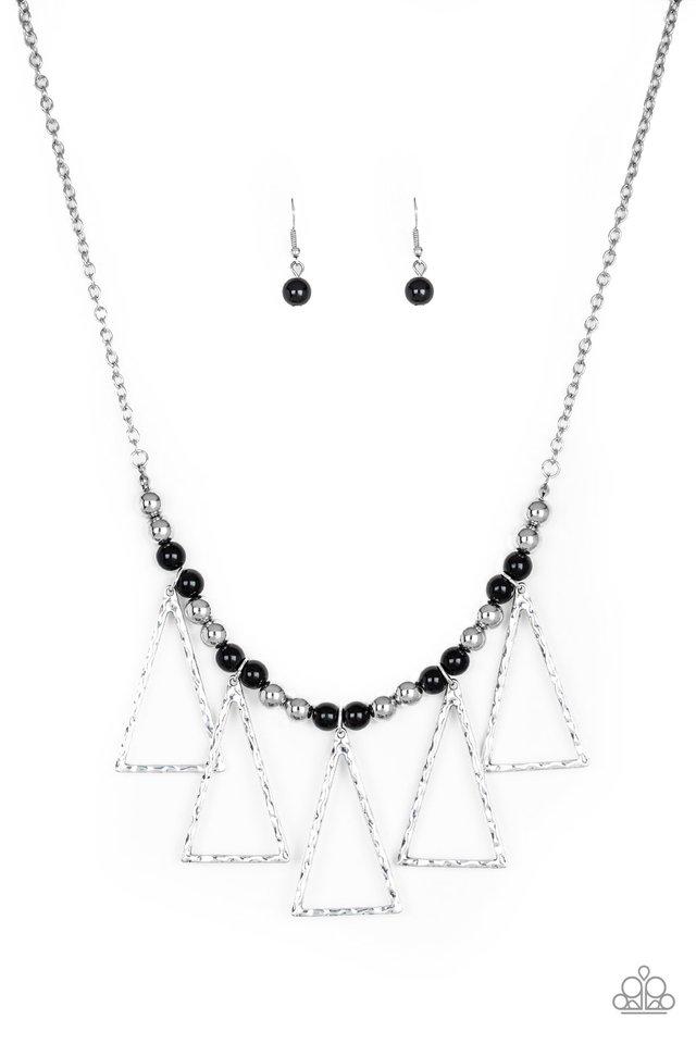 Terra Nouveau - Black - Paparazzi Necklace Image