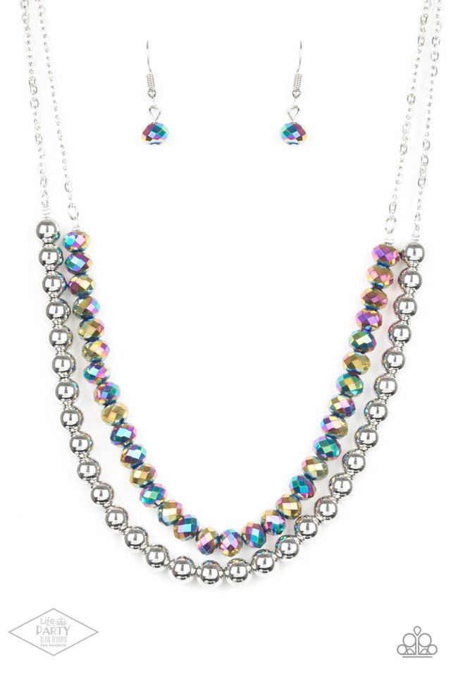 Color Of The Day - Multi - Paparazzi Necklace Image