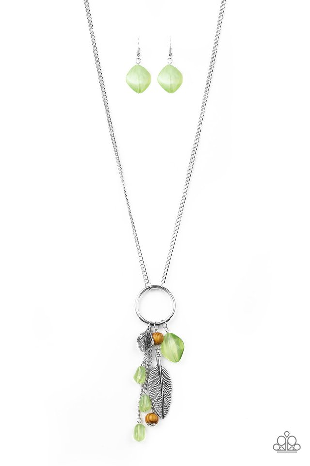 Sky High Style - Green - Paparazzi Necklace Image