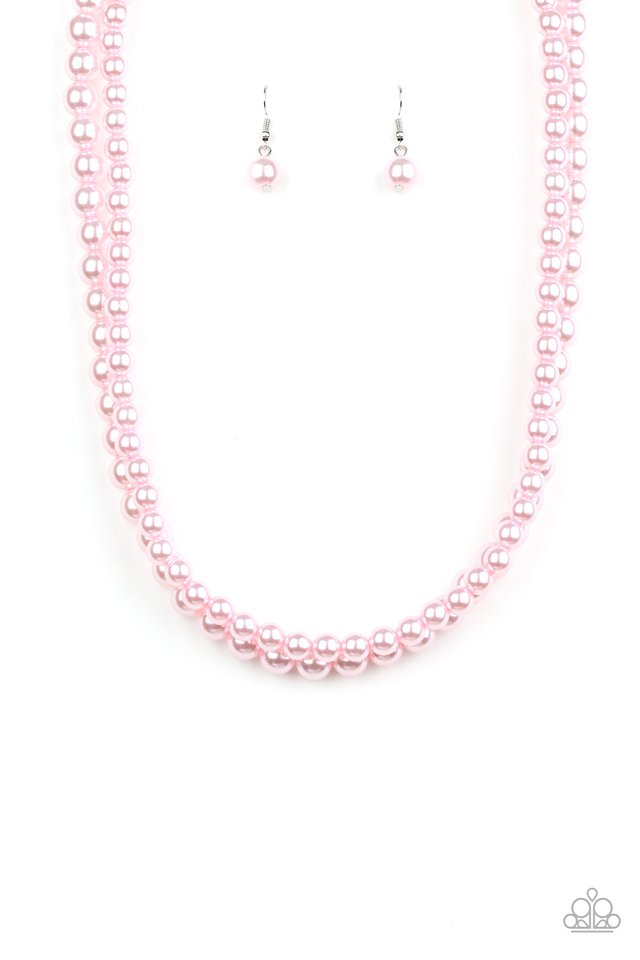 Woman Of The Century - Pink - Paparazzi Necklace Image