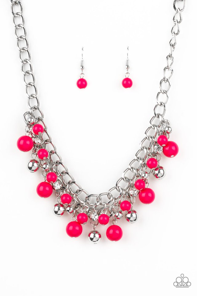 The Bride To BEAD - Pink - Paparazzi Necklace Image