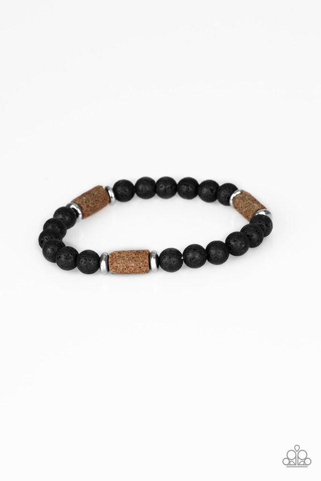 At Rest - Brown - Paparazzi Bracelet Image