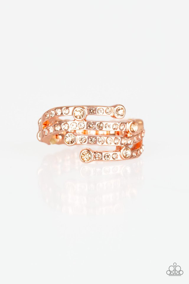 Casino CACHE - Copper - Paparazzi Ring Image