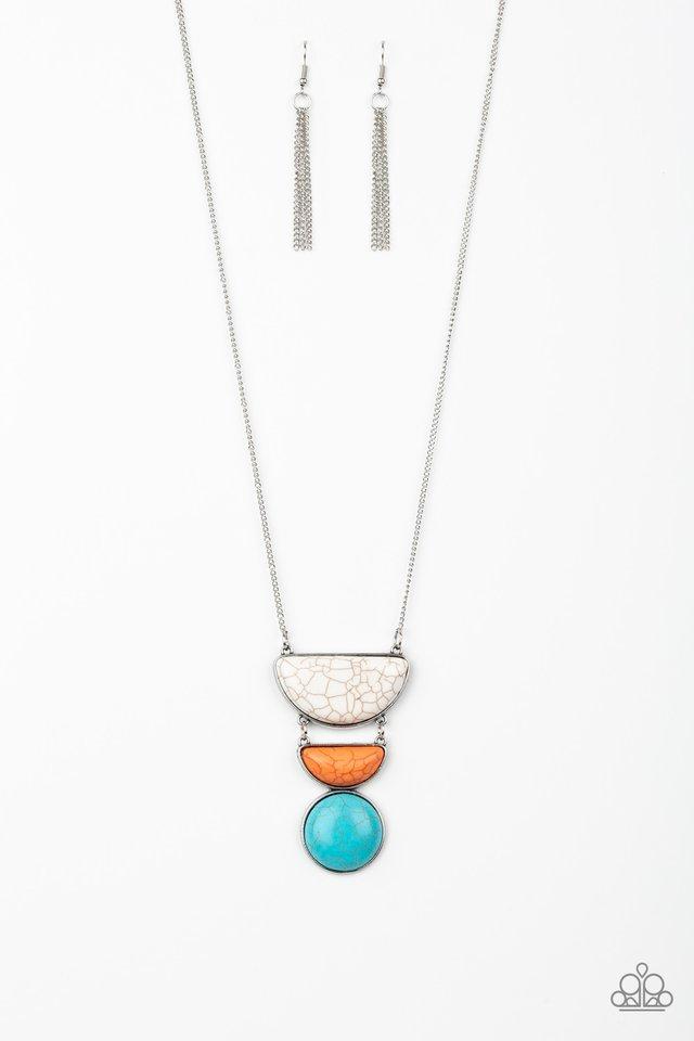 Desert Mason - Multi - Paparazzi Necklace Image