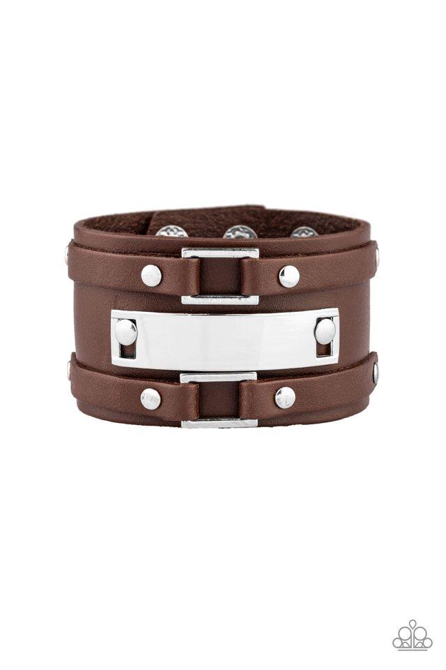 Rural Ranger - Brown - Paparazzi Bracelet Image