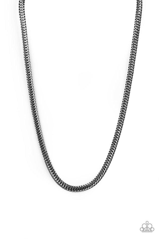 Knockout King - Black - Paparazzi Necklace Image