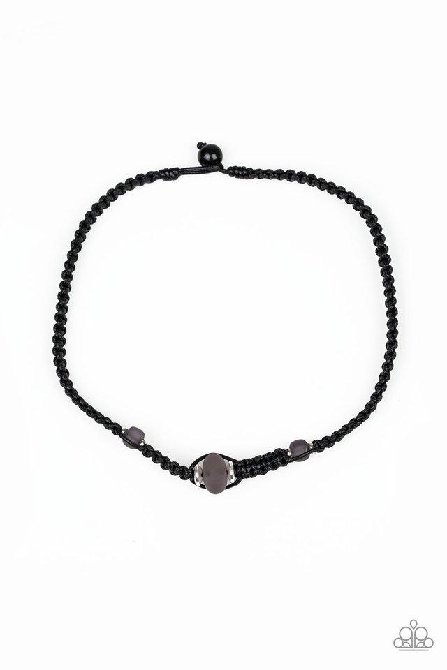 Maui Beach - Black - Paparazzi Necklace Image