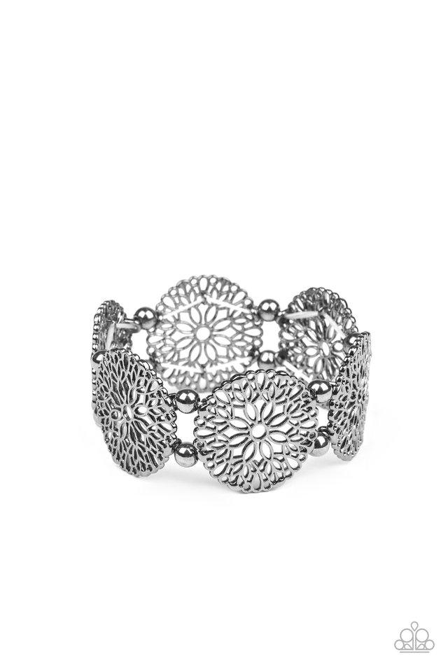A Good MANDALA Is Hard To Find - Black - Paparazzi Bracelet Image