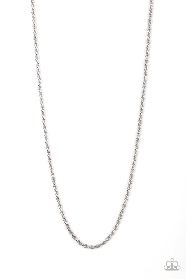 The Go-To Guy - Silver - Paparazzi Necklace Image