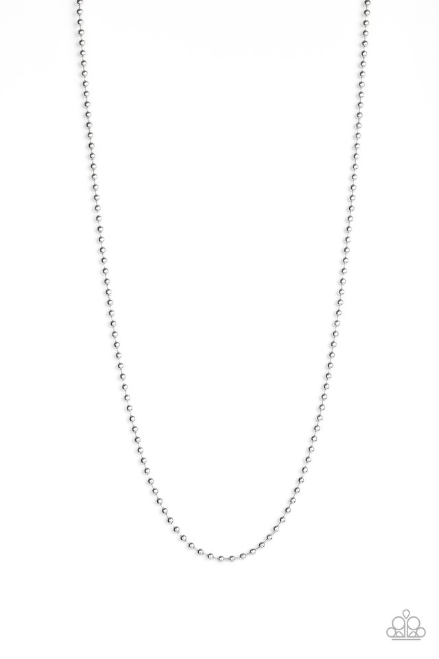 Cadet Casual - Silver - Paparazzi Necklace Image