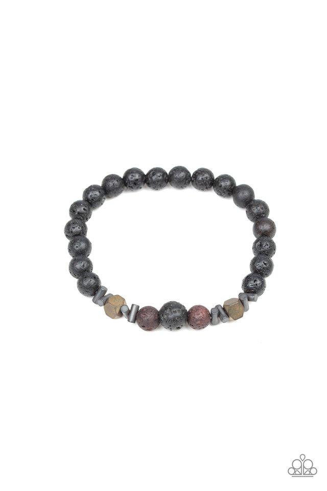Empowered - Brown - Paparazzi Bracelet Image
