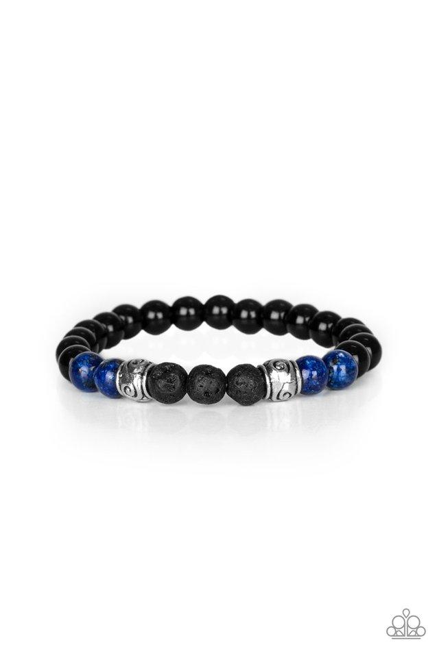 Proverb - Blue - Paparazzi Bracelet Image