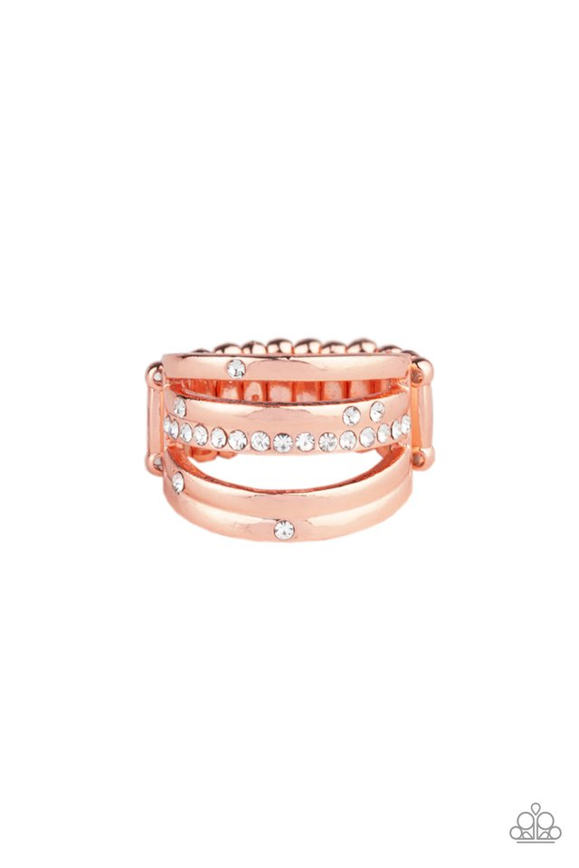 Make A SHEEN - Copper - Paparazzi Ring Image
