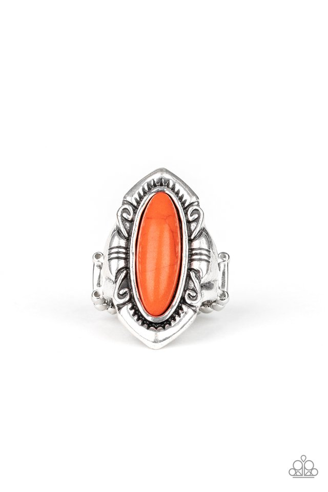 Santa Fe Serenity - Orange - Paparazzi Ring Image