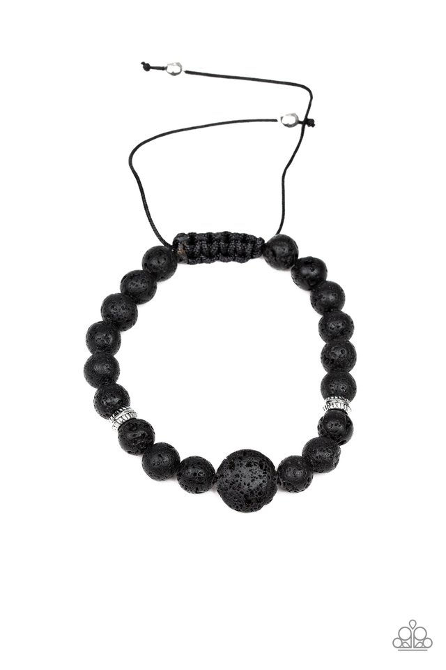 Intention - Black - Paparazzi Bracelet Image