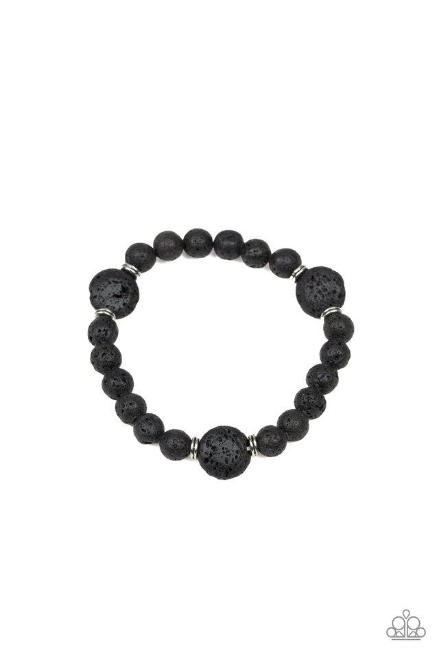 Providence - Black - Paparazzi Bracelet Image