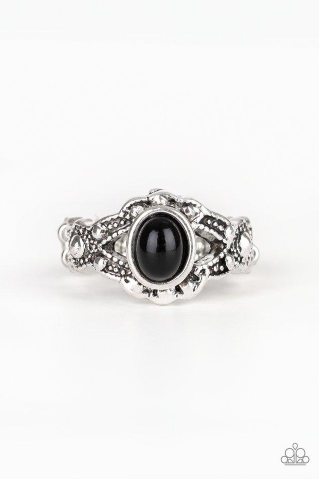 Definitely DOT! - Black - Paparazzi Ring Image
