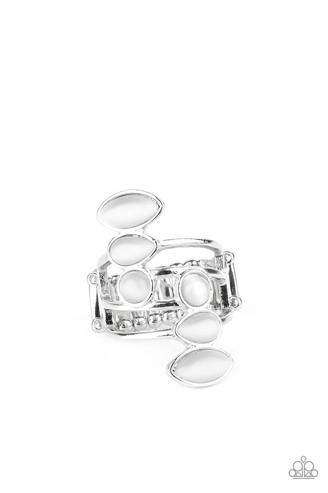 Wraparound Radiance - White - Paparazzi Ring Image