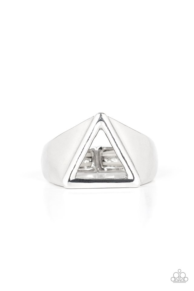 Trident - Silver - Paparazzi Ring Image