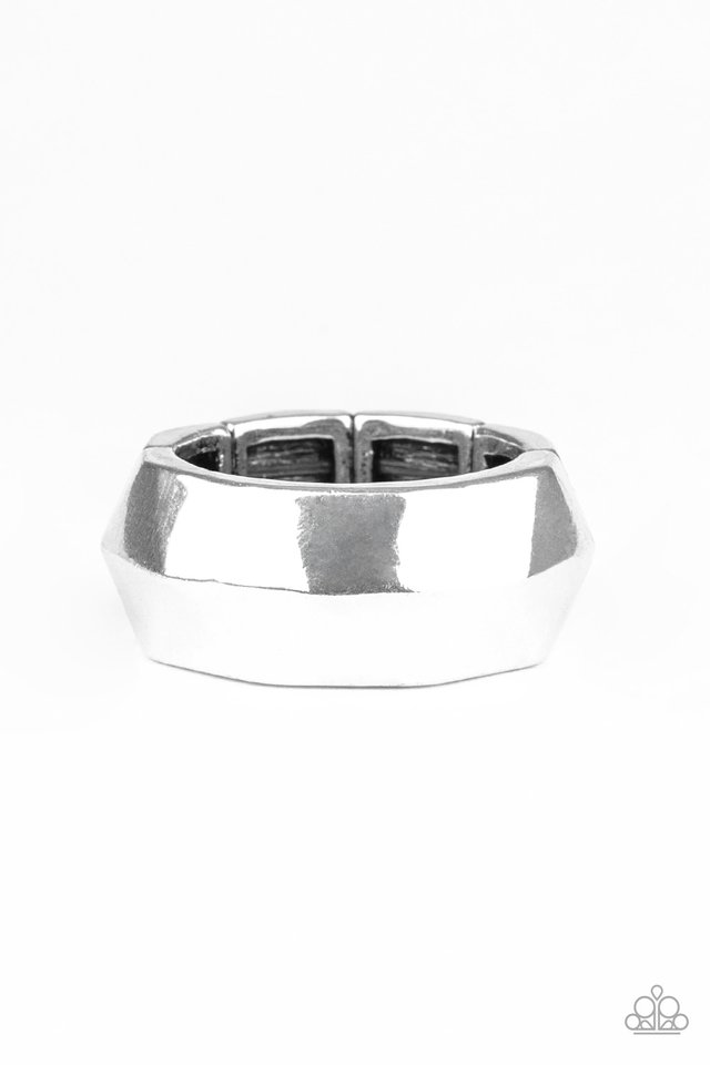 Industrial Mechanic - Silver - Paparazzi Ring Image
