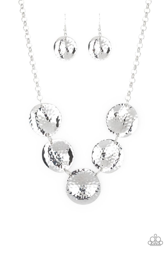 First Impressions - Silver - Paparazzi Necklace Image