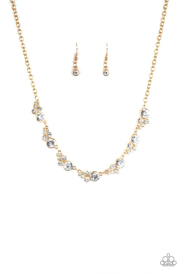 Social Luster - Gold - Paparazzi Necklace Image