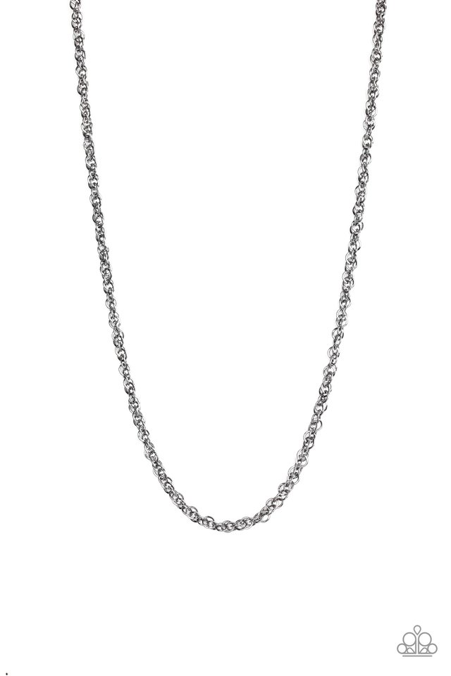 Lightweight Division - Black - Paparazzi Necklace Image