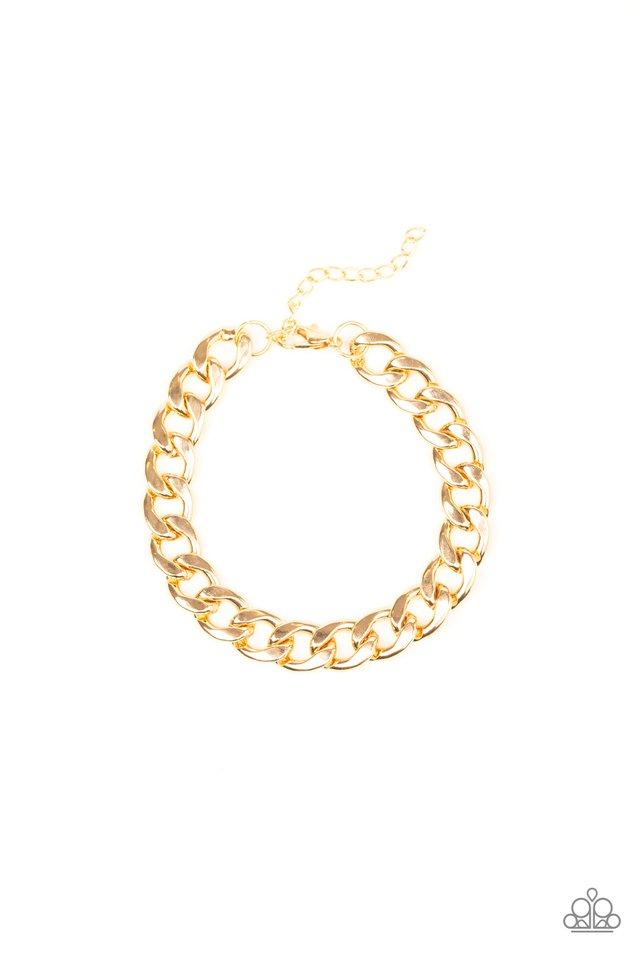 Leader Board - Gold - Paparazzi Bracelet Image