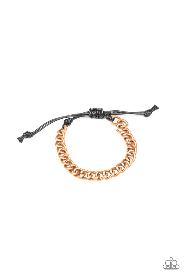 Blitz - Copper - Paparazzi Bracelet Image