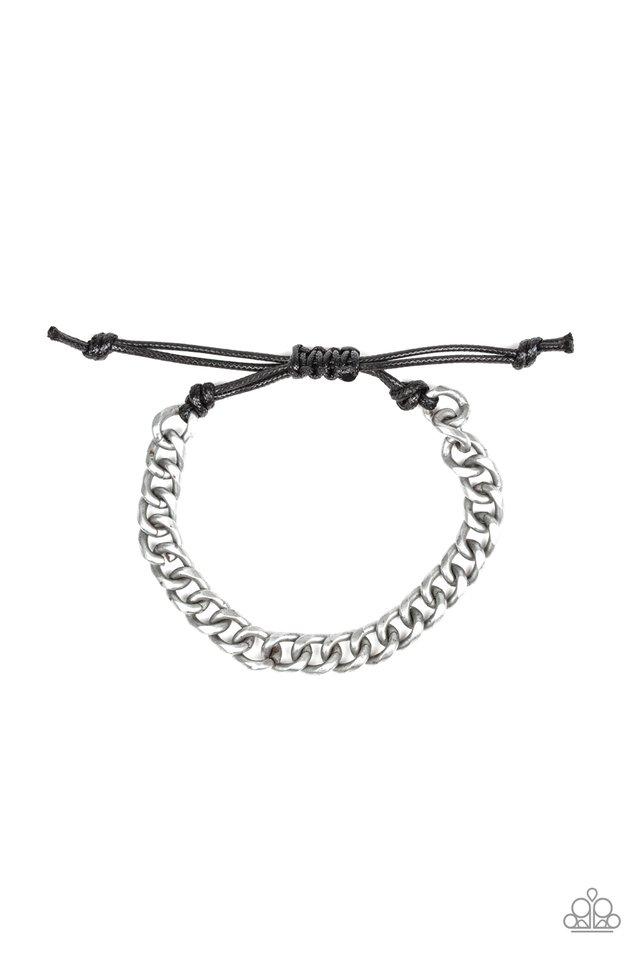 Blitz - Silver - Paparazzi Bracelet Image