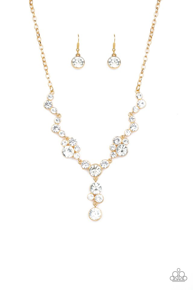 Inner Light - Gold - Paparazzi Necklace Image