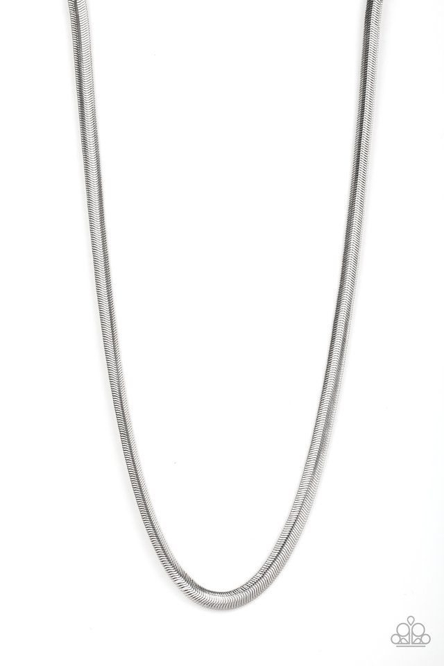 Kingpin - Silver - Paparazzi Necklace Image