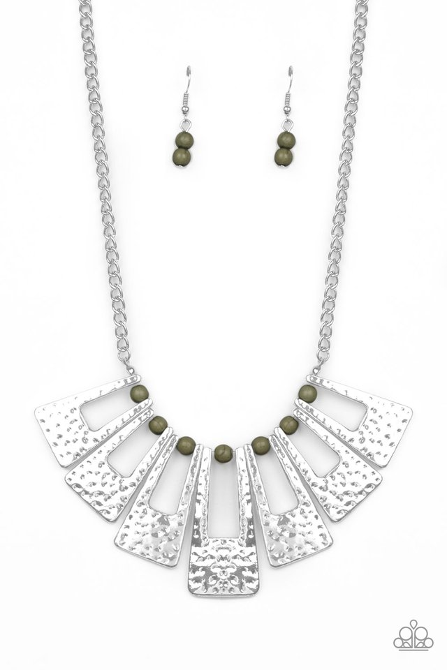 Terra Takeover - Green - Paparazzi Necklace Image