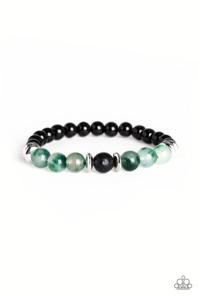 World Peace - Green - Paparazzi Bracelet Image