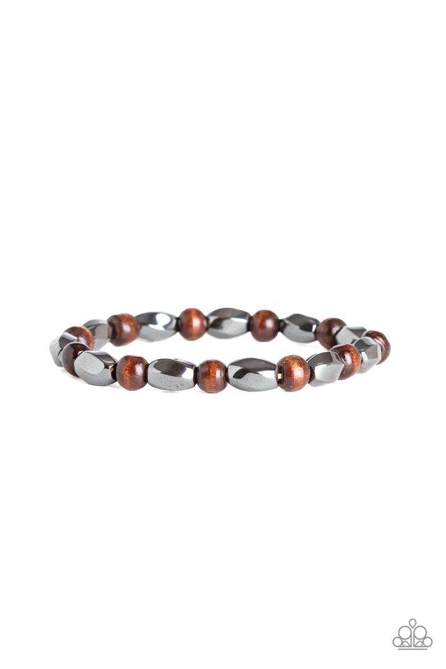Resilient - Brown - Paparazzi Bracelet Image