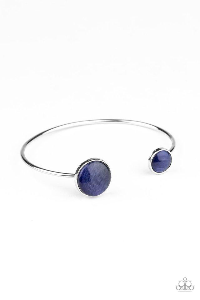 Brilliantly Basic - Blue - Paparazzi Bracelet Image