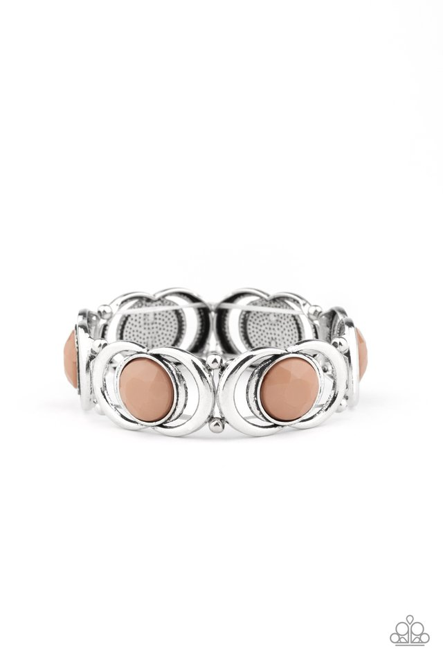 Modernly Malibu - Brown - Paparazzi Bracelet Image