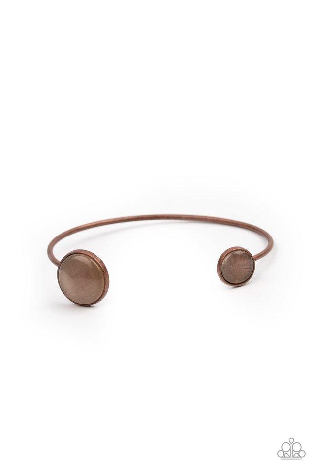 Brilliantly Basic - Copper - Paparazzi Bracelet Image