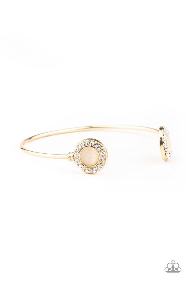 Instant Illumination - Gold - Paparazzi Bracelet Image