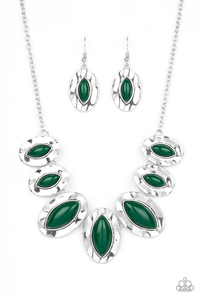 Terra Color - Green - Paparazzi Necklace Image