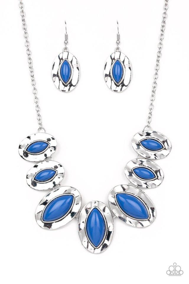 Terra Color - Blue - Paparazzi Necklace Image