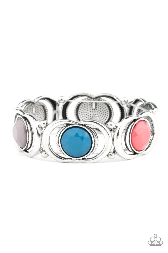 Modernly Malibu - Multi - Paparazzi Bracelet Image