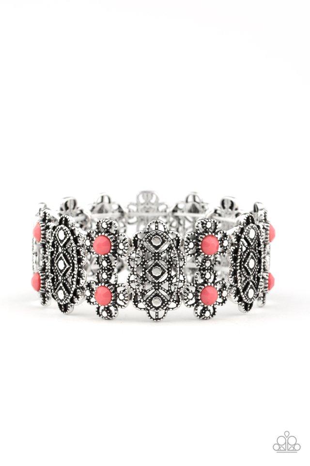 Majestic Gardens - Pink - Paparazzi Bracelet Image