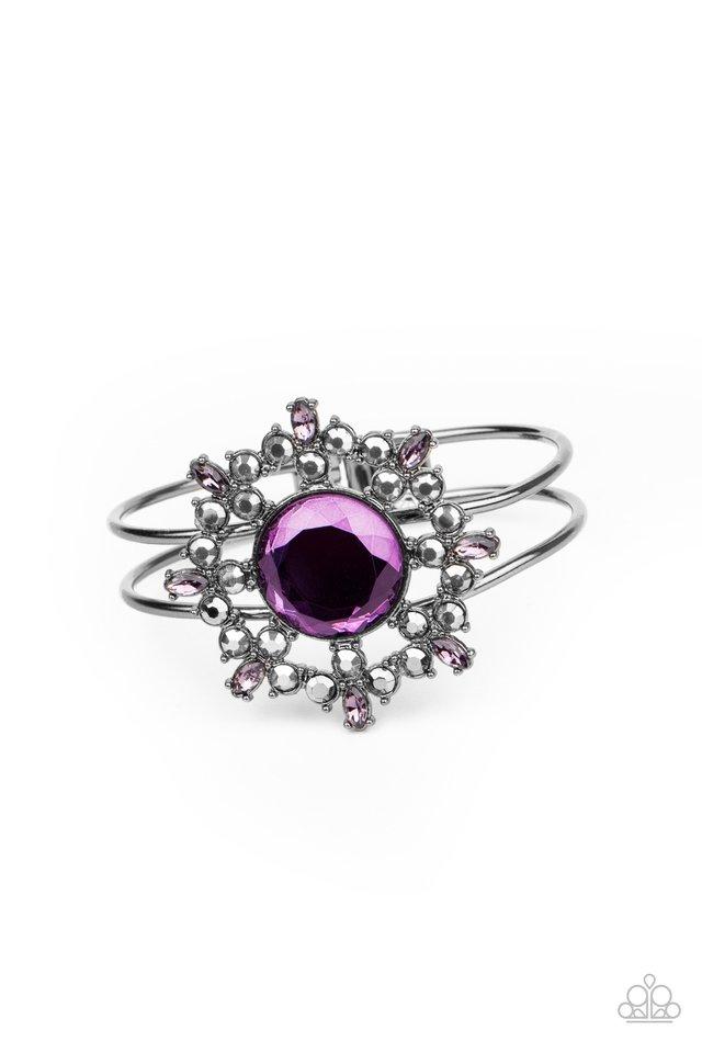 Elaborate Elegance - Purple - Paparazzi Bracelet Image