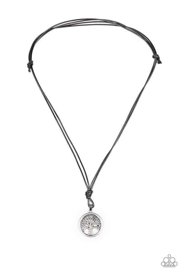 Rural Roots - Silver - Paparazzi Necklace Image