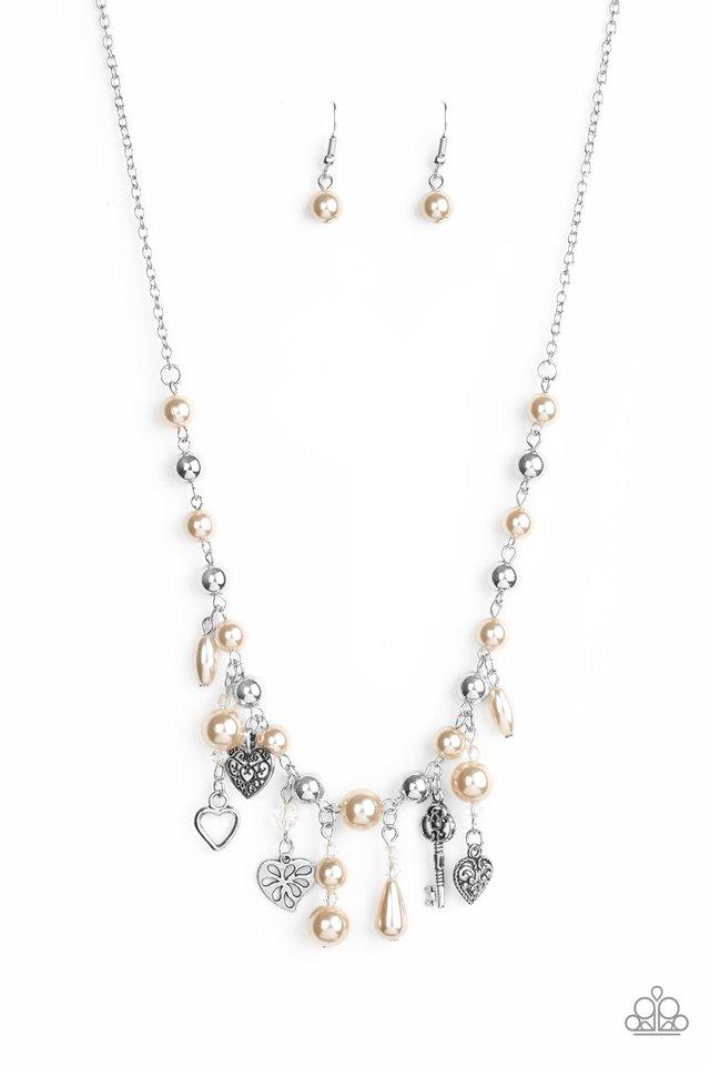 Renaissance Romance - Brown - Paparazzi Necklace Image